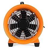 Moracle Ventilador de Admisión Extractor de Aire de 200 mm Sin Tubo Extractor Industrial Garaje (200 mm)