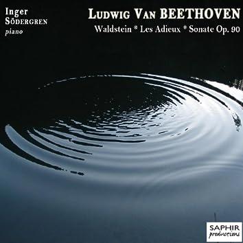 """Beethoven: Sonate """"Waldstein"""" - """"Les Adieux"""" - Sonate Op. 90"""