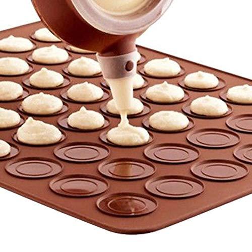 Andere Dessert Tools - 1 st 30 Cavity Siliconen gebak Macaron Oven Bakplaat Mat Random Clour - BFF Bak Macaron Macaron Verschillende kleur Mat Macaron Deeg Macaron Mat Macaron Ch