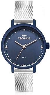2dde2a71f7f Relógio Feminino Technos em Aço Inoxidável Prata 2035MMN 5A