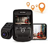 REXING V1 MAX 4K Solo Dash Cam 3840X2160@30fps UHD WiFi GPS Car Dash Camera w/ Night Vision, Supercapacitor,170° Wide Angle, Mobile App, Loop Recording, G-Sensor, Parking Monitor, Support up to 256GB