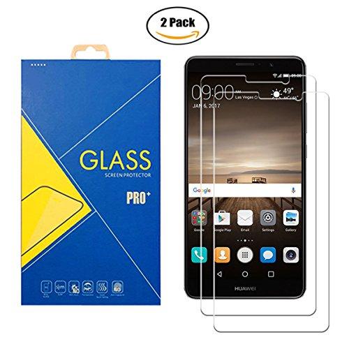 Protector de pantalla de cristal templado compatible con Huawei Mate 9 Lite ( VNS-L31 ) – Pantalla antigolpes y antiarañazos