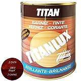 BARNIZ TINTE TITANLUX BRILLANTE NOGAL 750 ML