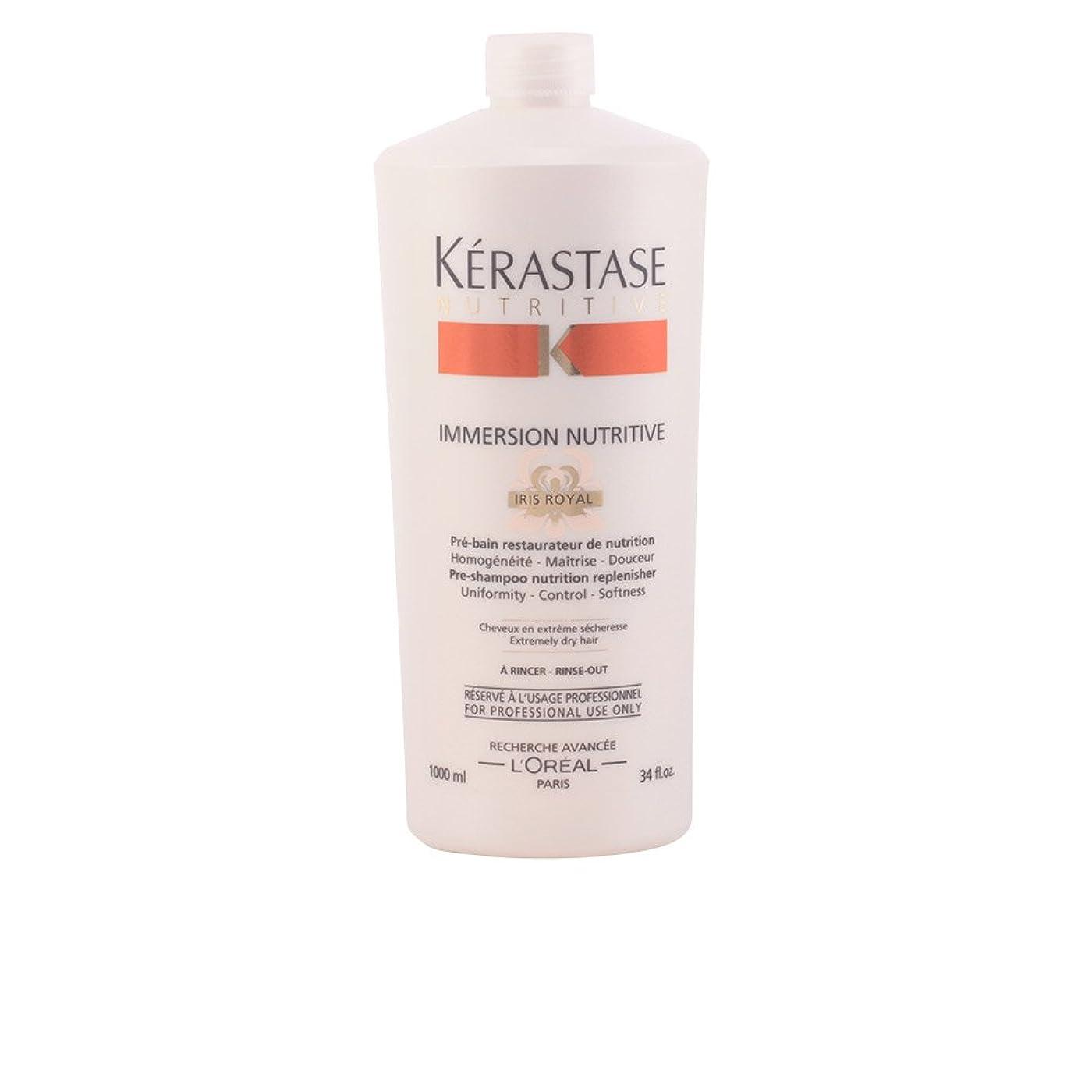 パフ単に便宜ケラスターゼ ニュートリティブ プレシャンプー ニュートリション リプレニッシャー (非常に乾燥した髪用) 1000ml/34oz