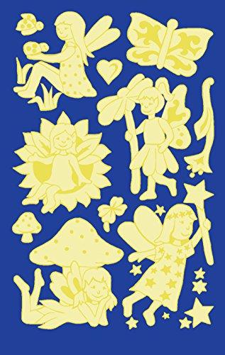 AVERY Zweckform 59259 Kinder Sticker Elfen (Leuchtmaterial) 12 Aufkleber