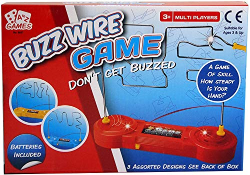 A to Z Games Multiplayer Buzz Wire Game