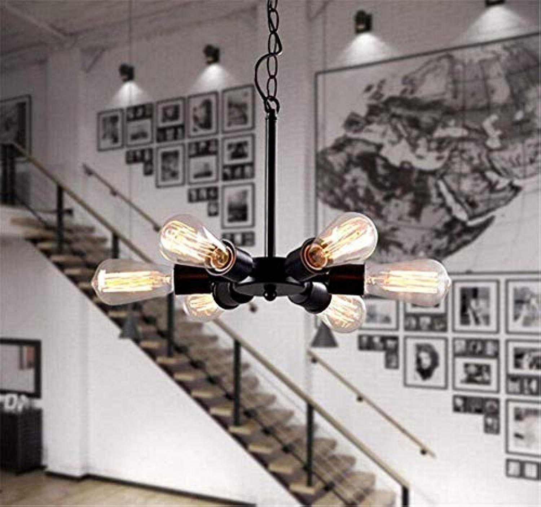 Oudan Alte Kronleuchter schmiedeeiserne Dekoration für Das Hotel Restaurant Esszimmer Kronleuchter Lampe (Farbe   -, Gre   -)