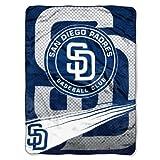 NORTHWEST MLB San Diego Padres Raschel Throw Blanket, 60' x 80', Speed