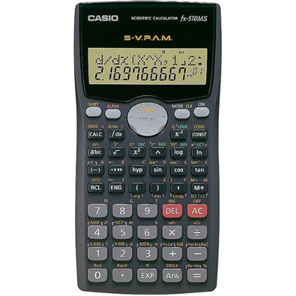 恋人豊富にシソーラスCasio # fx-570ms複線表示Scientific Marixベクトル計算電卓