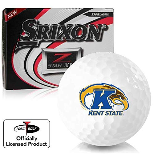 Buy Discount Srixon Z Star XV Kent State Golden Flashes Golf Balls