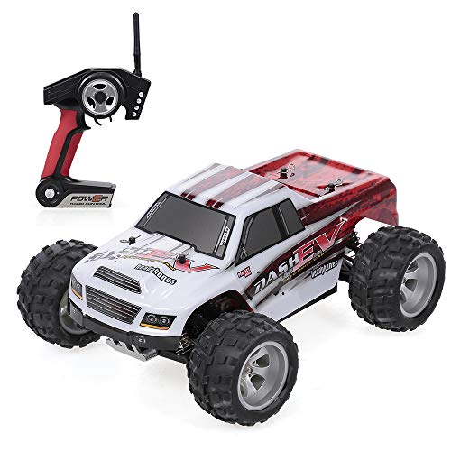baratos y buenos Goolsky WLtoys Auto A979-B 2.4G1 / 18 Scale 4WD 70KM / h High Speed ​​RTR Monster Truck RC Car calidad