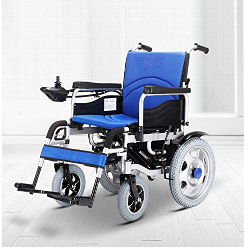 NIGHT WALL Lifestyle Lightweight Fold Foldable Portable Electric Wheelchair Deluxe Powerful Dual Motor Compact Mobility Aid Wheel Chair