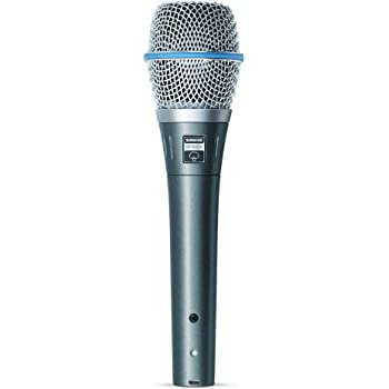 Shure BETA 87A Supercardioid Condenser Microphone for Handheld Vocal Applications (Renewed)