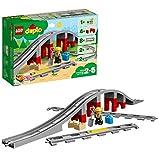 LEGO 10872 DuploTown Puenteyvíasferroviarias, Juguete de Construcción para Niños y Niñas a Partir de 2 años