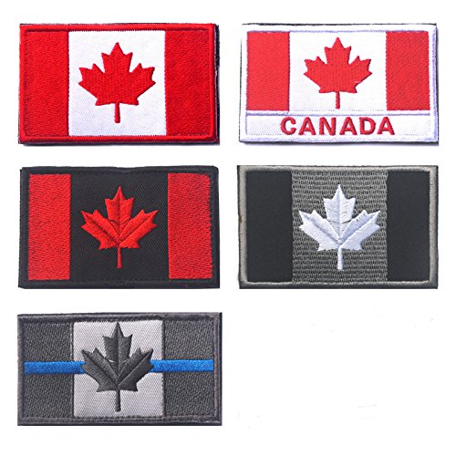 Oyster-Patch - Parche táctico bandera Canadá Quebec