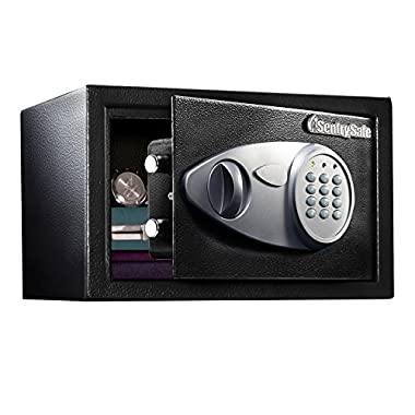 SentrySafe Security Safe, Medium Digital Lock Safe, 0.5 Cubic Feet, X055