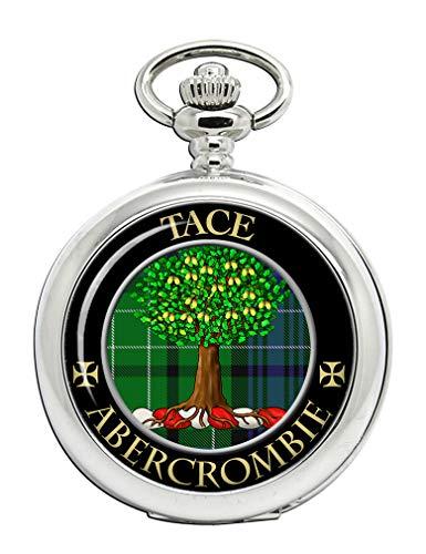 Abercrombie Clan escocés Escudo Full Hunter Reloj de Bolsillo