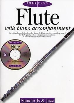 Paperback Solo Plus: Standards & Jazz: Flute Book