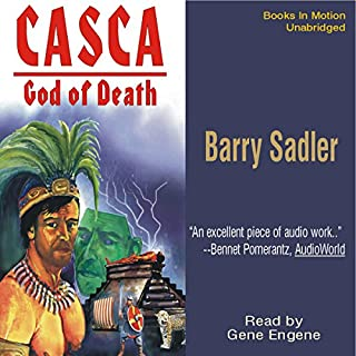 Casca: God of Death: Casca Series #2 audiobook cover art