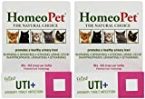Homeopet UTI Plus Urinary Tract Infection for Cats, 15ml (2 Pack)