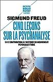 Cinq leçons sur la psychanalyse (Petite Bibliothèque Payot t. 1) - Format Kindle - 4,99 €