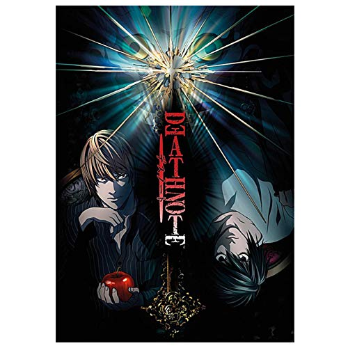 tealn Death Note Poster Anime Manga Comic Poster Painting for Wall Decoration Fans Gift(Multi5)