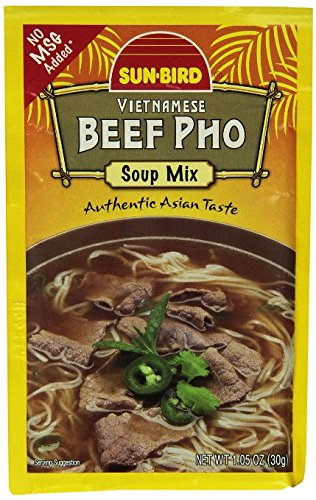 Sun-bird Vietnamese Beef Pho Soup Mix 3 1 New Shipping Free of 100% quality warranty! Packets Pack Oz
