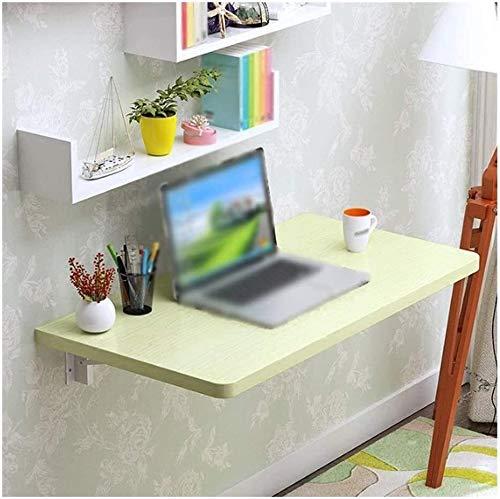 Sólido Mesa Plegable de Mad era Arce Blanco Tabla Colgar de la Pared computadora de Oficina Mesa Plegable Mesa Soporte metálico de Tablero de melamina Escritorio del Estudio de múltiples Funciones de