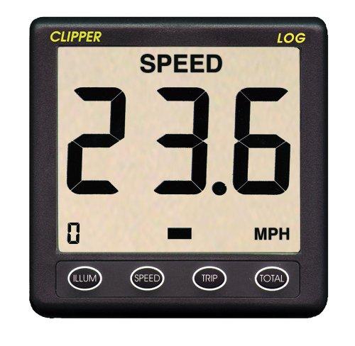 Nasa Clipper Speed/Log-Repeater, Dunkelgrau