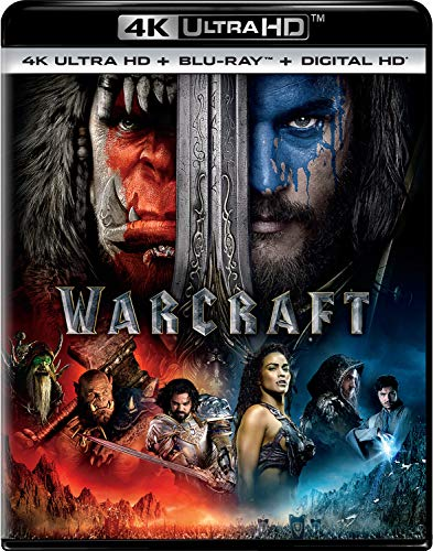 Warcraft [4K Ultra HD + Blu-ray + Digital HD] $9.96 - $9.96
