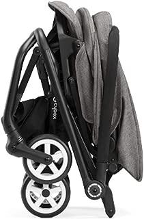 Cybex Eezy S Twist Baby Stroller, Manhattan Grey & Aton 2 Rear-Facing Car Seat