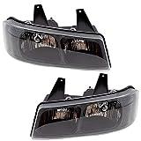 Brock Replacement Driver and Passenger Set Composite Halogen Headlights 2003-2020 Express ...