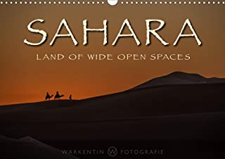 Sahara - Land of Wide Open Spaces (Wall Calendar 2020 DIN A3 Landscape): The unlimited beauty, space and silence of the Sahara desert in 12 ... calendar, 14 pages ) (Calvendo Nature)