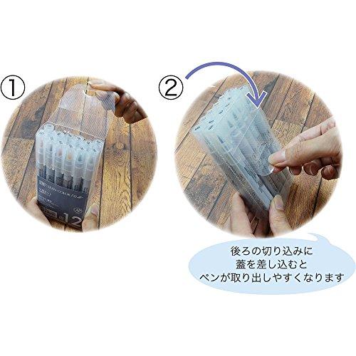 呉竹水性ペンZIGクリーンカラーFBソフト12色FB-6000T/12VA