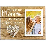 cocomong Gifts for Mom from Daughter Son, Mom Gifts Picture Frame, Mother's Day, Birthday Gifts for Step Mom, Mother in Law - You are The Mom Everyone Wish They Had - Frame for 4x6 Photo