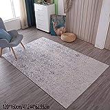 LIYANJIN Teppich,Designerteppich Moderner kurzfloriger Abstrakter Farbeffekt,Größe:120 * 160 cm,A