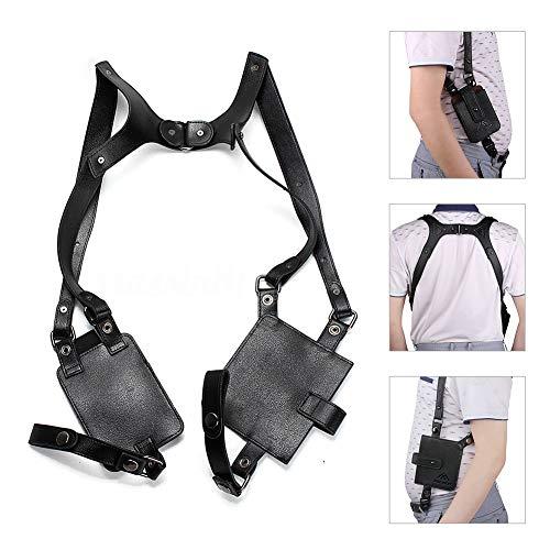 Neween Anti-Theft Hidden Underarm Strap Wallet Pocket Holster Phone Shoulder Holster Bag Leisure Double Shoulder Pouch