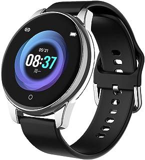 Rastreador de Ejercicios, impermeabile IP67 Reloj Pulsómetro Presión sanguínea Monitor de Sueño Podómetro Disparo Inteligente Reloj Inteligente Compatible con Android e iOS