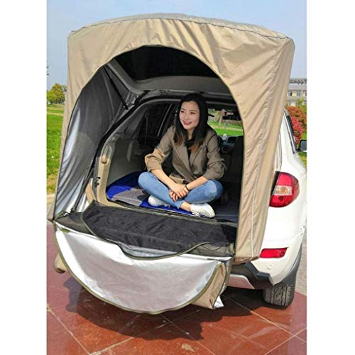 RONGJJ Khaki black camouflage is only for SUV car rear roof outdoor equipment camping tent canopy rear book durable -no stand bar