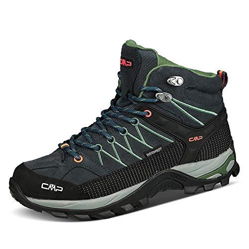 CMP Campagnolo Rigel WP Mid-Cut Trekkingschuhe Herren Antracite/torba Schuhgröße EU 42 2021