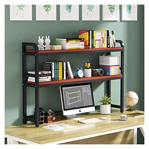 Librería Salon Escritorio Estante con Marco Negro de metal de gran capacidad de almacenaje de la exhibición del estante organizador Decoración for el Estudio de la oficina compartida Estantería Decora