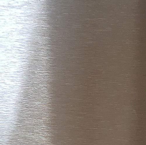 Edelstahlblech, Edelstahl k320 gebürstet 1 mm stark, Blechstreifen, 2000 x 1000 mm V2A,Edelstahlplatte