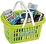 Theo Klein 7606 KLEIN goes Bio Einkaufskorb mit Zubehör, für Kinder ab 2 Jahren, Multicolor