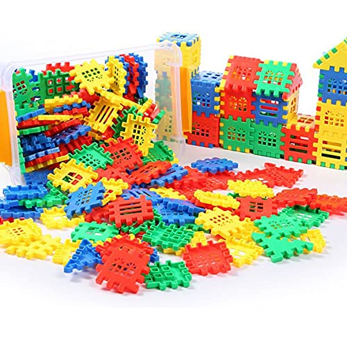 Building Blocks, Tiles Early Educational & Development Toys, Building Toys for Toddlers Girls and Boys Gifts (70 PCS) 34