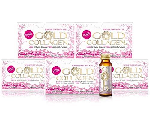 GOLD COLLAGEN® Pure 50 Day – Lucha temprana signos de envejecimiento, nutritivo desde el interior, aumenta el colágeno natural, elastina y niveles de hidratación