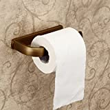 <span class='highlight'><span class='highlight'>Hiendure</span></span>®Wall Mounted Toilet Paper Holder Towel Rack, Antique Brass (Paper Holder)