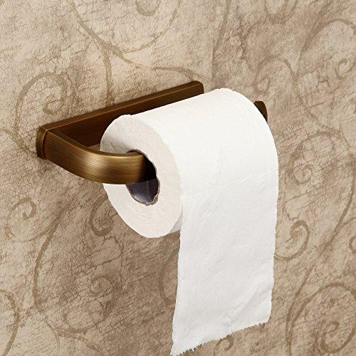 Hiendure® Dérouleur de papier toilette,antiquité brass