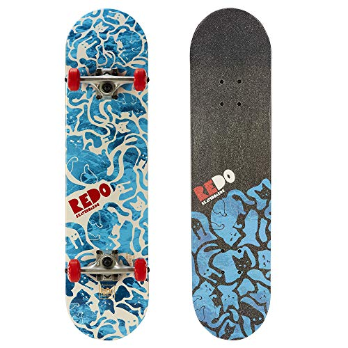 ReDo Skateboard 31' x 7.675' Eye Candy Pop Cat Camo Complete...