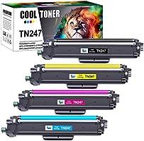 Cool Toner Compatible TN-243CMYK TN247 TN-247 TN243 Cartouches de Toner pour Brother MFC-L3750CDW DCP-L3550CDW...