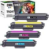 Cool Toner Compatible Cartucho de Tóner para Brother TN-247 TN247 TN243CMYK para Brother MFC-L3730CDN DCP-L3550CDW MFC-L3750CDW MFC-L3770CDW HL-L3210CW HL-L3230CDW HL-L3270CDW MFC-L3710CW DCP-L3510CDW